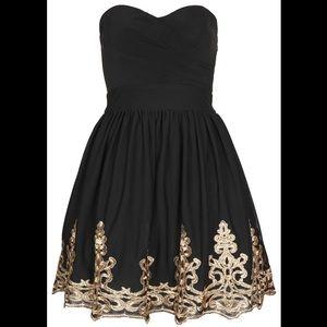 Topshop Lila Bandeau Dress